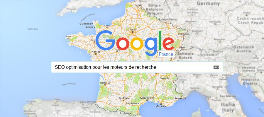 Pozycjonowanie stron – Francja