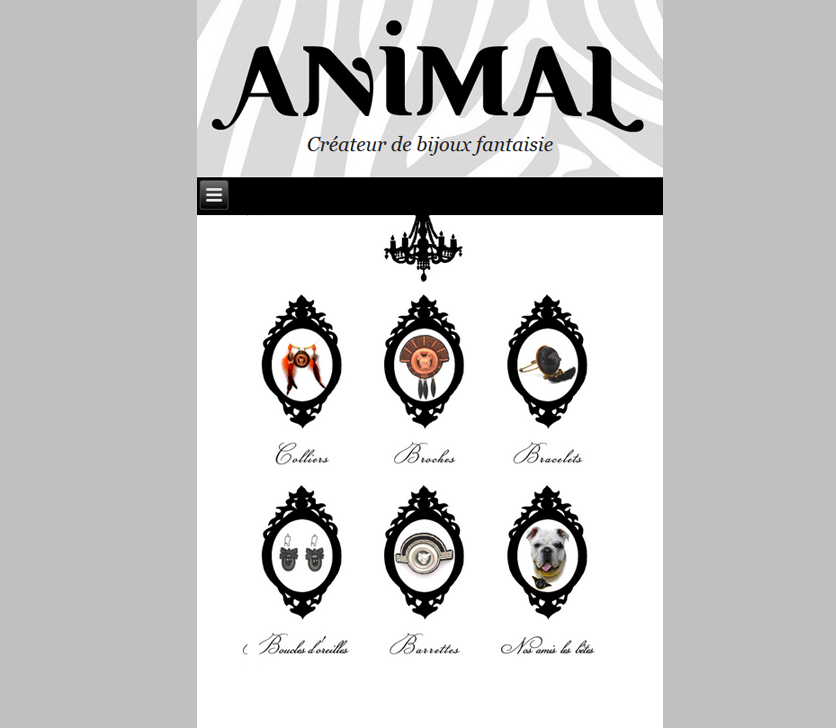 Responsive Web Design For Animal