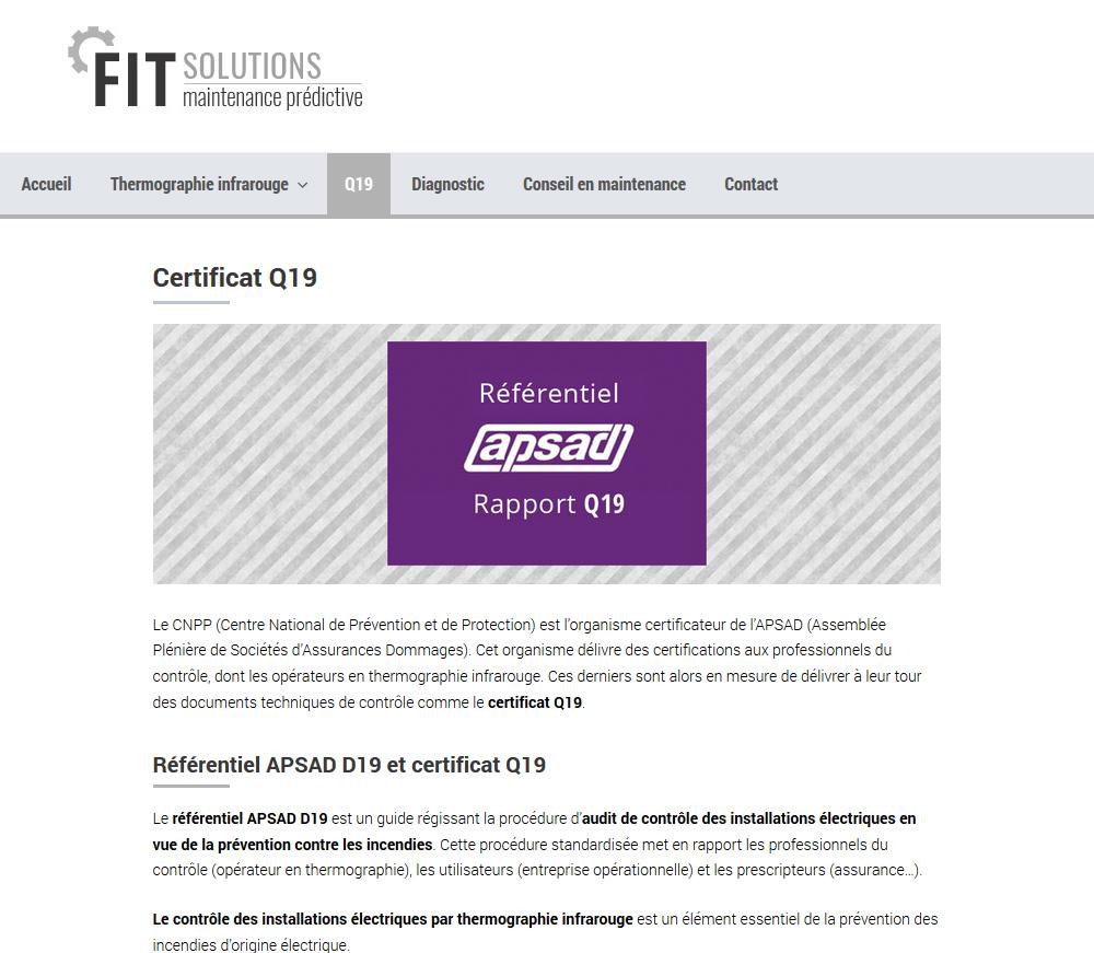 Creation Site Internet : FIT Solutions, Hérault, 34