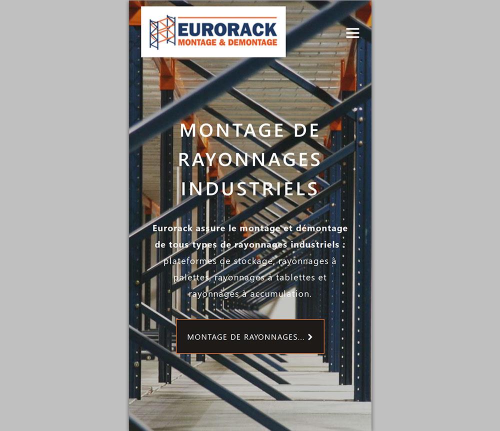 Responsive Web Design - EURORACK Mobile Version