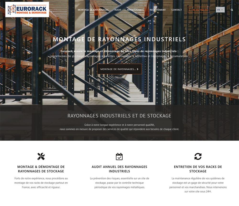 Web Design & SEO For France And Poland - EURORACK